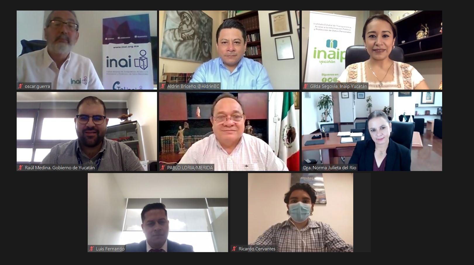 Buscan fortalecer la comunicación entre sujetos obligados y ciudadanía: Inaip Yucatán.