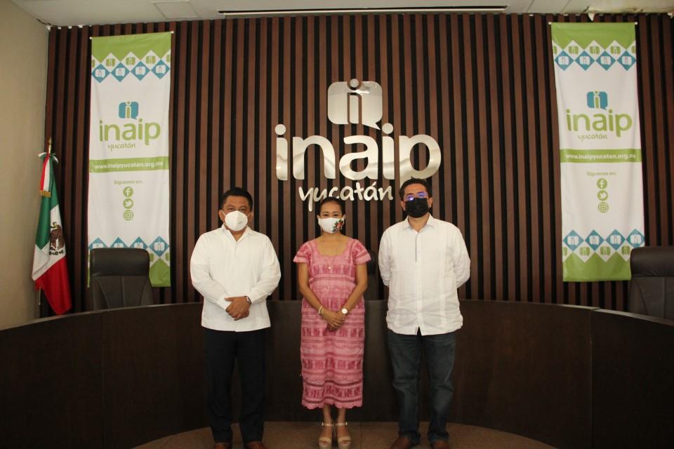 Inaip Yucatán estrecha lazos colaborativos con el ITAIP Tabasco.