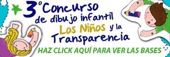 Tercer concurso de dibujo infantil. Los niños y la transparencia.