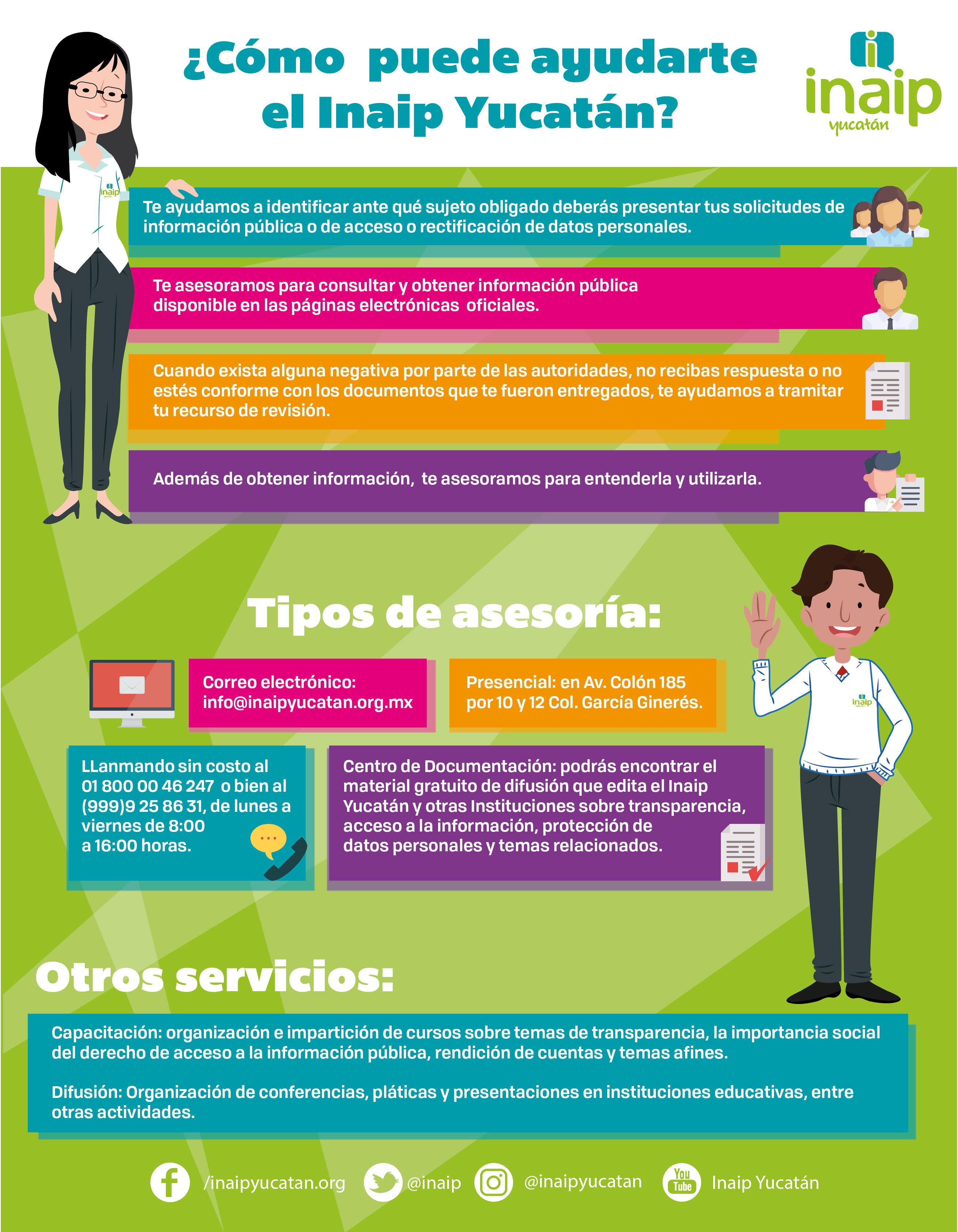 ¿Cómo puede ayudarte el Inaip Yucatán?